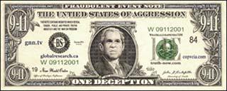 Bush $911 bill (front)